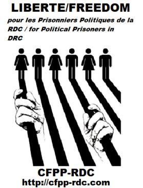 logo prisonniers politiques rdc