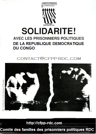 solidarite prisonniers politiques rdc