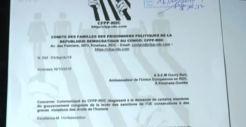 SUIVEZ LA REACTION DU COMITE DES FAMILLES DES PRISONNIERS POLITIQUES DE LA RDC A PROPOS DE L' INOPPORTUNITE DE LA LEVEE DES SANCTIONS CONTRE CERTAINES PERSONNALITES DE LA RDC ACCUSEES DE VIOLATIONS DES DH -JOURNAL TV5 MONDE AFRIQUE DU 24/10/2018  Cfpp-tv5monde-3